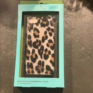 Kate Spade iPhone 7 leopard phone case